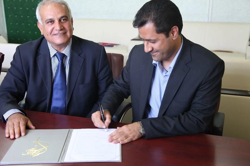 Hossein col Presidente