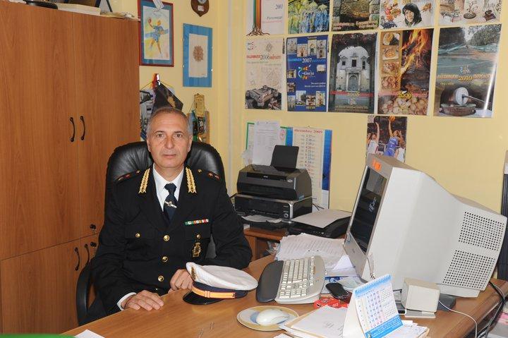 Raffaele Paladini Comandante Vigili