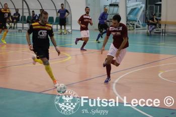 Futsal lecce vs ruffano