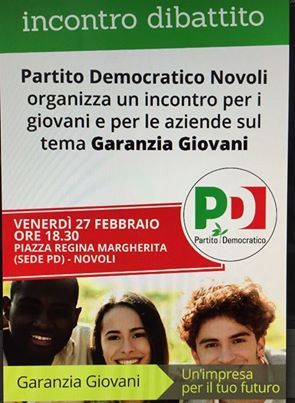 Garanzia Giovani PD Novoli