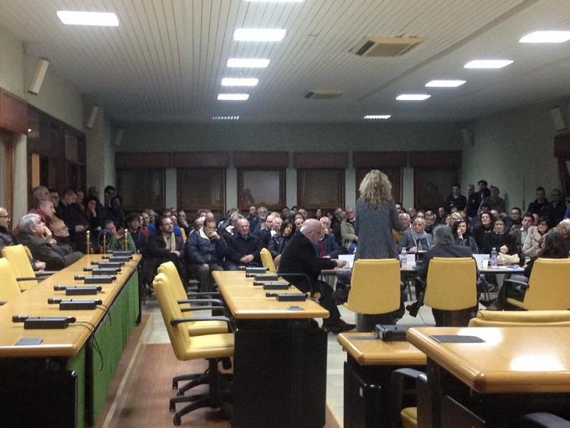 TAP   Dibattito a San Pietro V.co 2