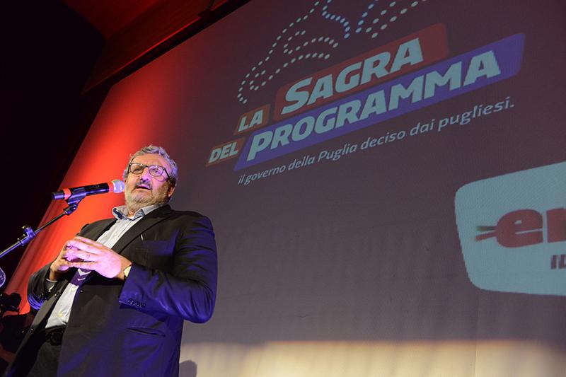 Michele Emiliano Sagra del Programma Lecce 6