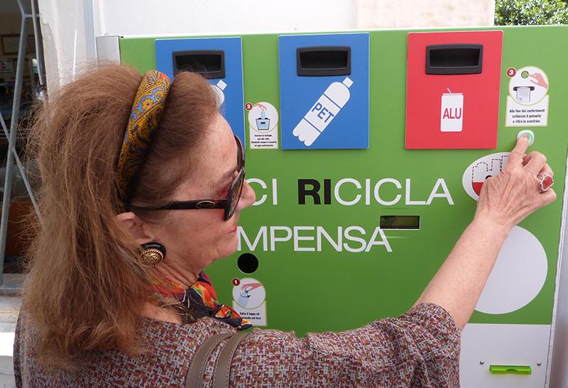 Giornata del riciclo ITES Olivetti