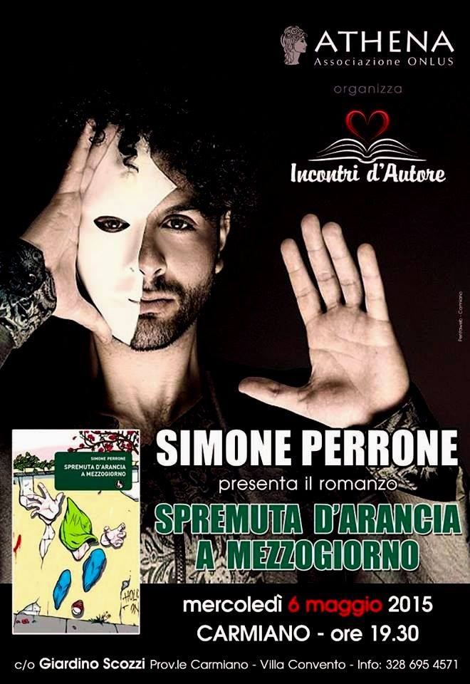 Locandina Simone Perrone