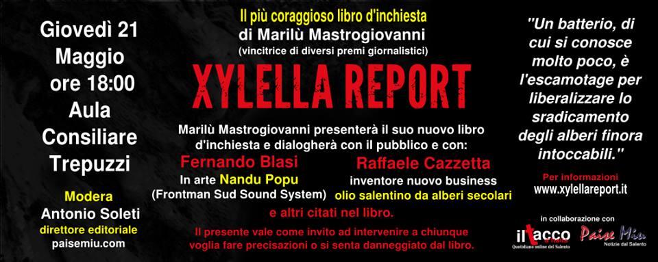 Xylella Report 2
