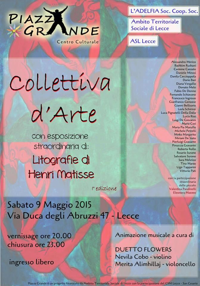 locandina Collettiva dArte