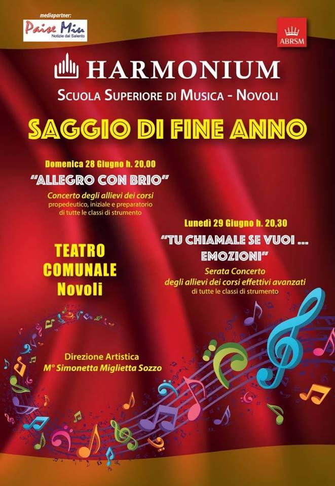 Harmonium Saggio Fine Anno 2015