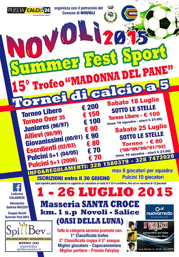 Locandina Summer Fest 2015