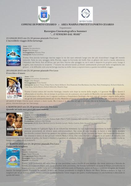 Rassegna cinematografica Porto Cesareo