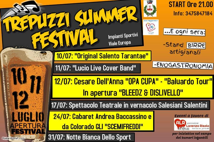Trepuzzi Summer Festival