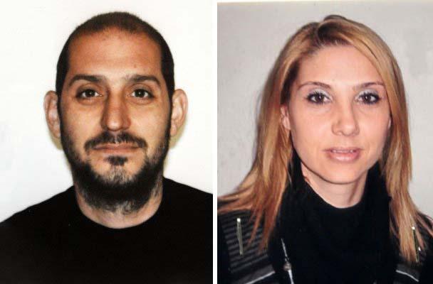 da destra la vittima Maria Paola Marzo e lassassino Sergio Pagano suicidatosi