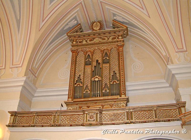 organo 1628 chiesa san nicola salve