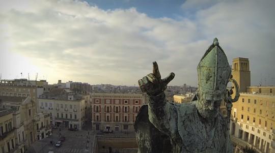 Lecce vista dal drone