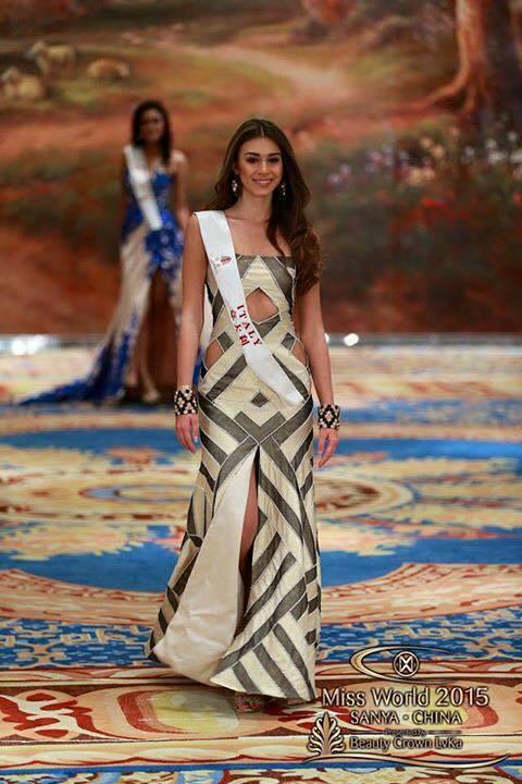 Greta Galassi a Miss World2015