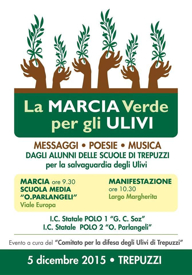 Marcia degli ulivi a Trepuzzi
