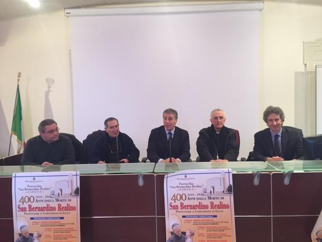 Conf. stampa Anno Bernardiniano
