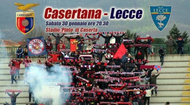 Locandina Casertana Lecce