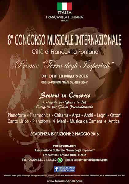 Concorso Musicale Francavilla F.na