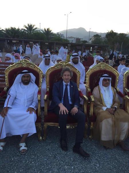Perrone negli Emirati Arabi