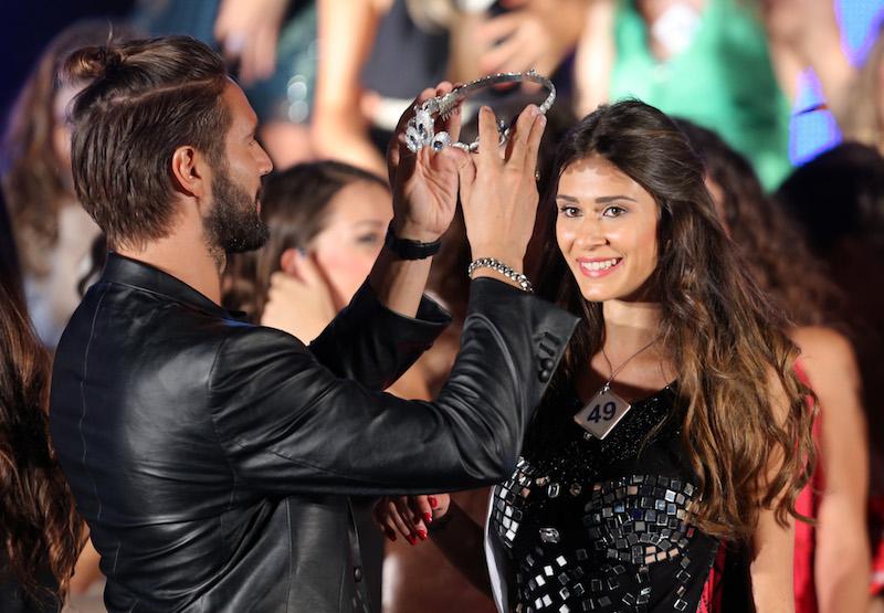 coronation Miss Mondo Italia 2015