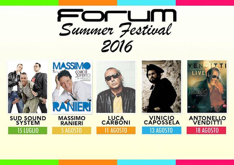 Forum Summer Festival