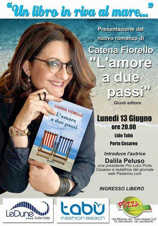 Locandina Catena Fiorello a Porto Cesareo