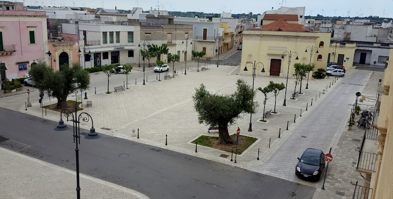 novoli piazza regina margherita