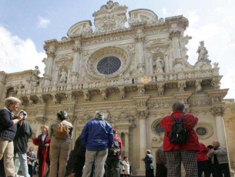 Turisti a Santa Croce