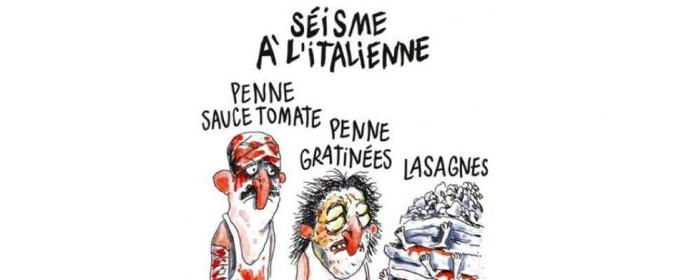 Charlie Hebdo Terremoto