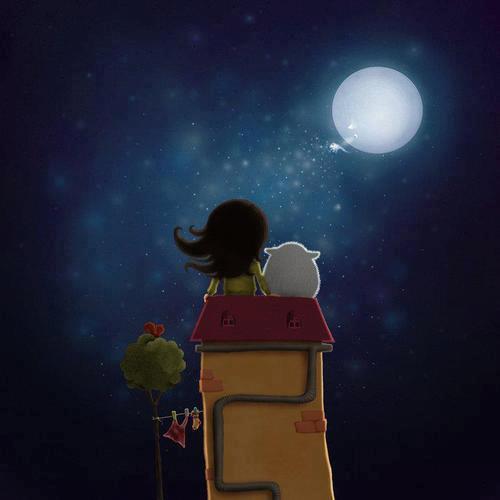 Luna e bimba