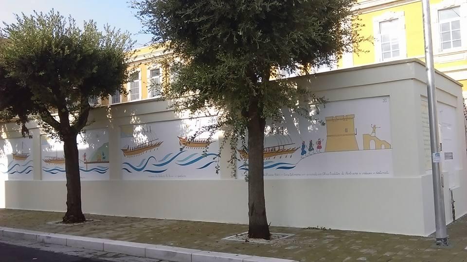 Murales scuola San Pancrazio