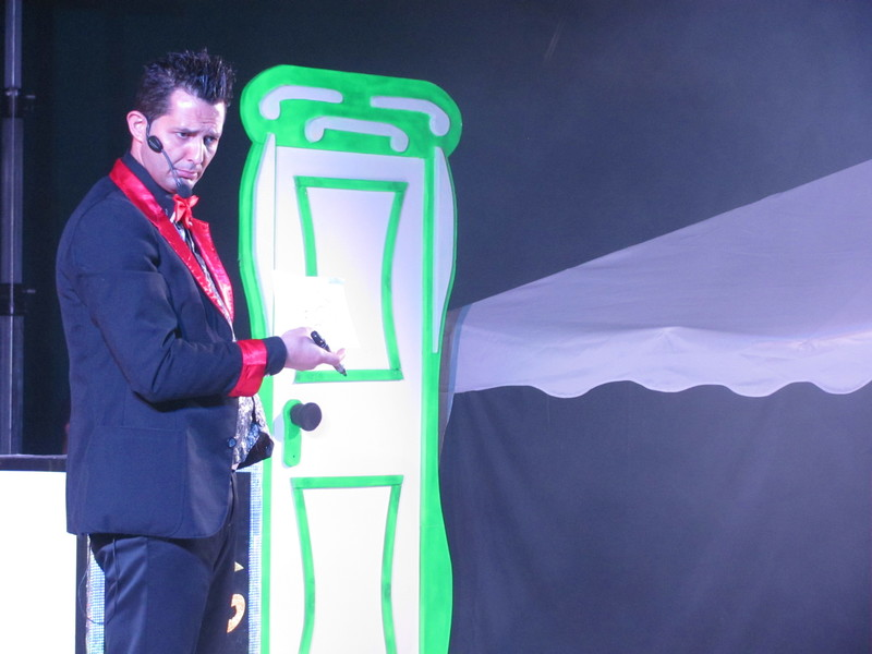 Gala di magia a Novoli